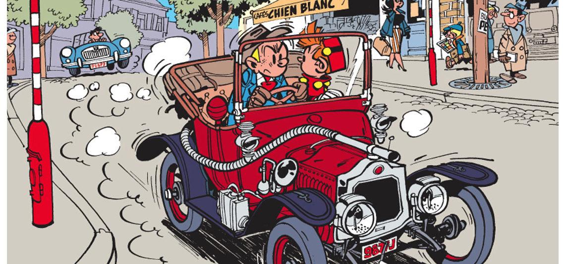 Spirou & Fantasio sont en ville !